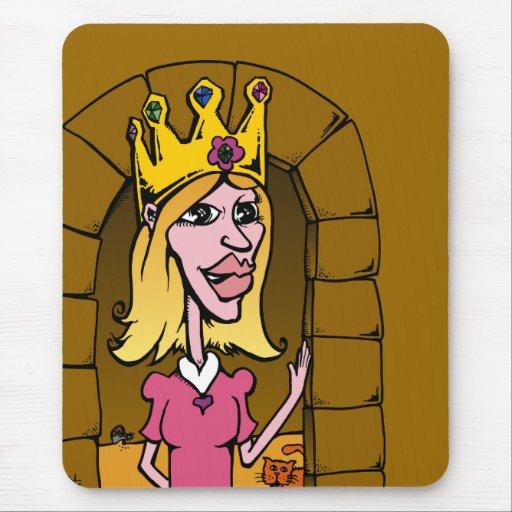 Princesa Tapete De Raton