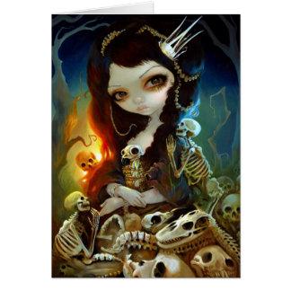 """""""Princesa tarjeta de felicitación de los huesos"""""""