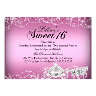 Princesa Theme Sweet 16 del caballo y del carro Anuncio
