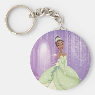 Princesa Tiana Llavero Redondo Tipo Pin