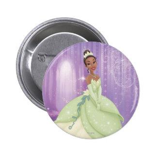 Princesa Tiana Pin Redondo De 2 Pulgadas