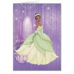 Princesa Tiana Tarjeta