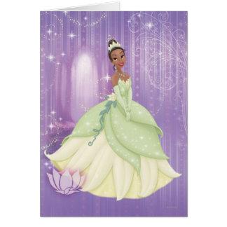 Princesa Tiana Tarjeta De Felicitación