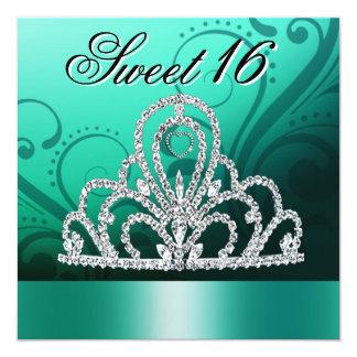 Princesa Tiara Sweet dieciséis (aguamarina) Anuncios Personalizados