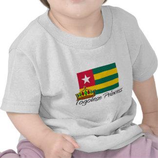 Princesa togolesa camisetas