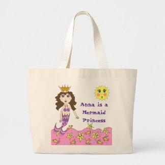 Princesa Tote de la sirena Bolsa De Mano