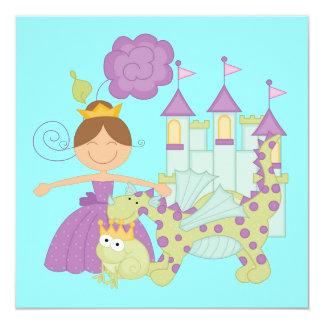 Princesa triguena invitaciones personales