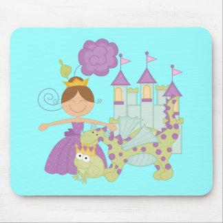Princesa triguena alfombrilla de ratón