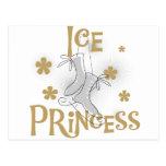 Princesa Tshirts y regalos del hielo Postal