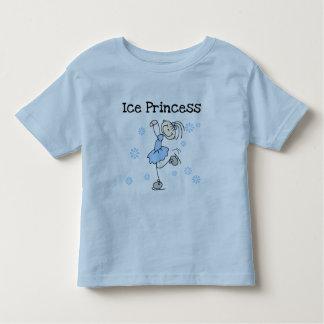Princesa Tshirts y regalos del patinaje de hielo Playera