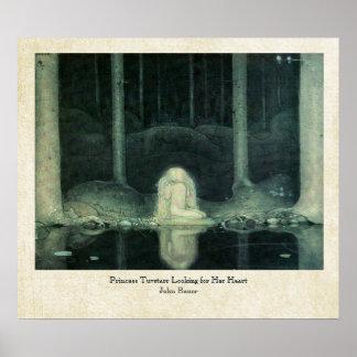 Princesa Tuvstarr de Juan Bauer que busca su coraz Poster