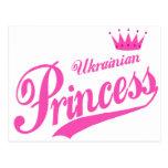 Princesa ucraniana tarjetas postales