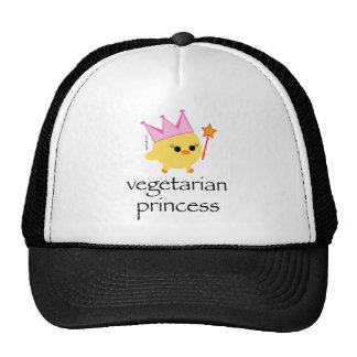 Princesa vegetariana Hat Gorro