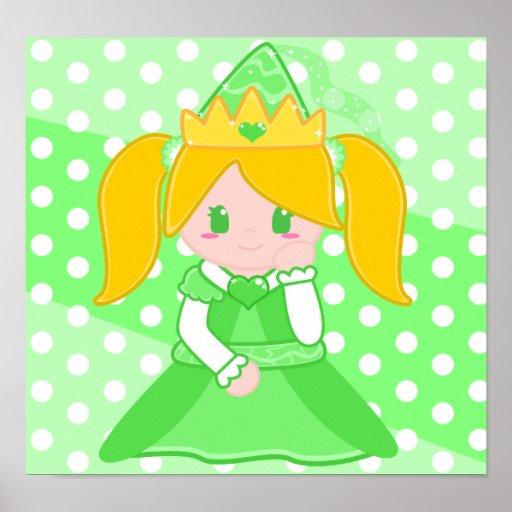 Princesa verde Poster