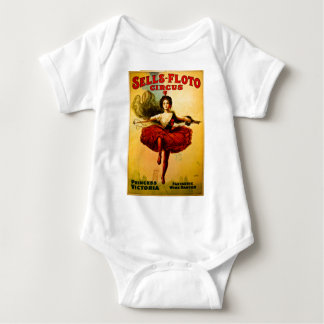 Princesa Victoria del circo del bailarín del Body Para Bebé