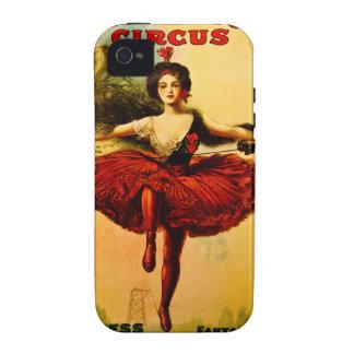 Princesa Victoria del circo del bailarín del Case-Mate iPhone 4 Carcasas