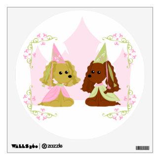 Princesa Wall Decal Vinilo Adhesivo