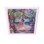 Princesa Warrior Print en lona por ValAries Lona Estirada Galerias