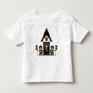 Princesa y caballeros en la mini camiseta del poleras