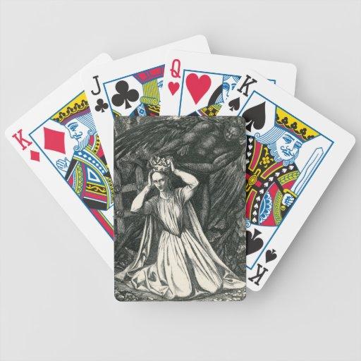 Princesa y el ángel oscuro barajas de cartas