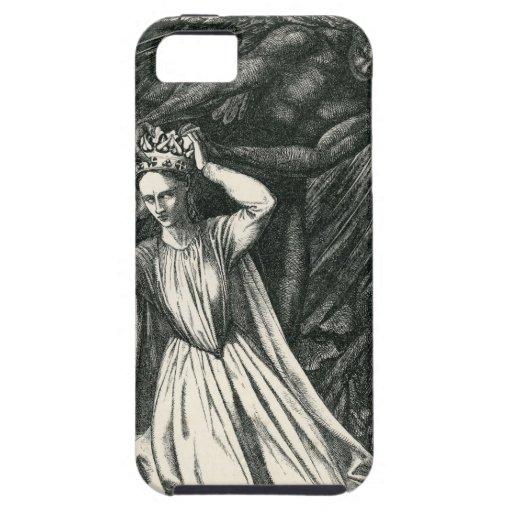 Princesa y el ángel oscuro iPhone 5 funda
