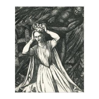 Princesa y el ángel oscuro impresiones de lienzo