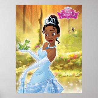 Princesa y la rana póster