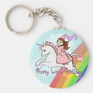 Princesa y llavero del unicornio