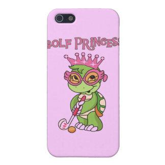 Princesa y regalos del golf iPhone 5 cobertura