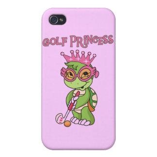 Princesa y regalos del golf iPhone 4/4S funda