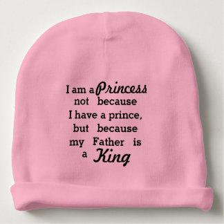 Princesa y rey gorrito para bebe