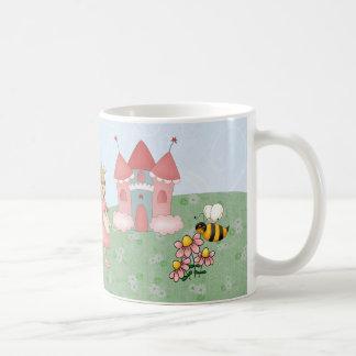 Princesa y su castillo taza de café