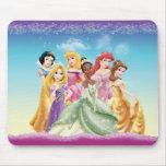 Princesas 10 de Disney Alfombrilla De Raton