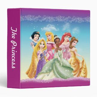 """Princesas 10 de Disney Carpeta 1 1/2"""""""