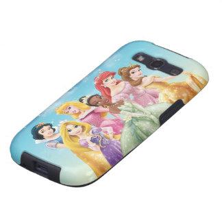 Princesas 10 de Disney Galaxy SIII Carcasas