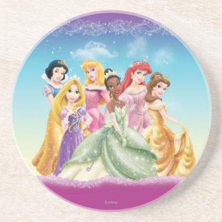 Princesas 10 de Disney Posavaso Para Bebida