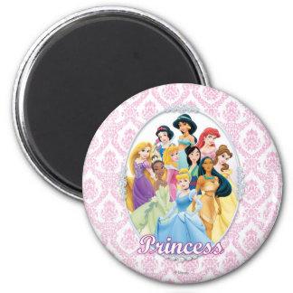 Princesas 11 de Disney Imán Redondo 5 Cm