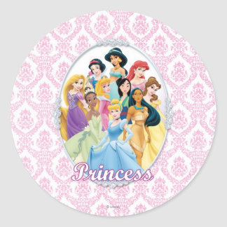 Princesas 11 de Disney Etiquetas