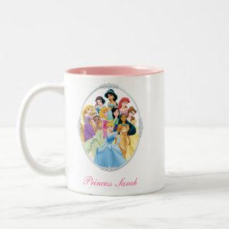 Princesas 11 de Disney Taza De Dos Tonos