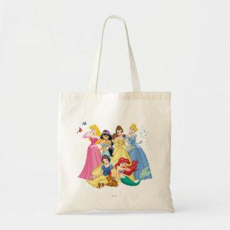 Princesas 3 de Disney Bolsa Tela Barata