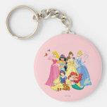 Princesas 3 de Disney Llavero Personalizado