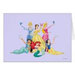 Princesas 4 de Disney Tarjeta De Felicitación