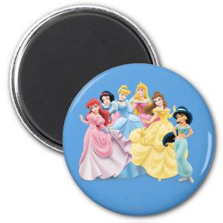 Princesas 7 de Disney Imán Redondo 5 Cm