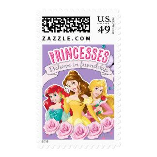 Princesas Believe en la amistad 1 Franqueo