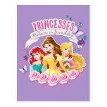 Princesas Believe en la amistad 1 Tarjeta Postal