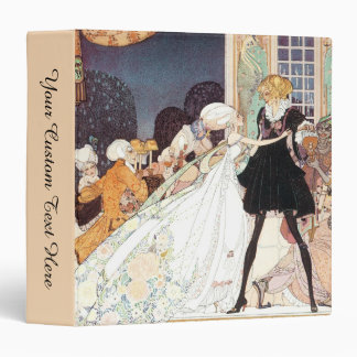 "Princesas de baile del vintage doce de Kay Nielsen Carpeta 1 1/2"""