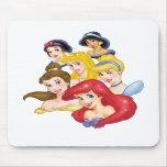 Princesas de Disney Tapete De Ratones