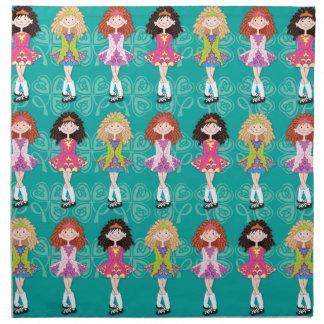 Princesas del carrete servilletas imprimidas