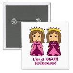 Princesas gemelas pin