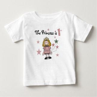 Princess 1st Birthday Baby T-Shirt